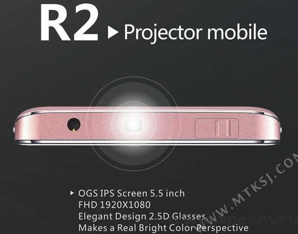 SISWOO R2 - смартфон с проектором