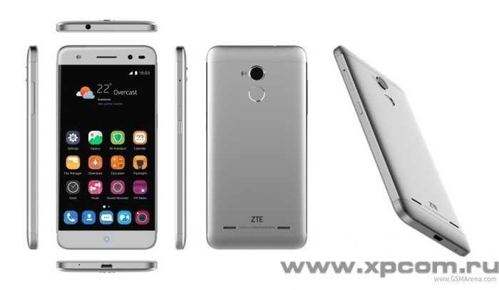 ZTE анонсировала два смартфона Blade V7 и V7 Lite