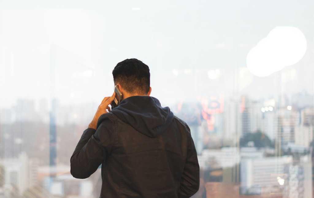 Позвоните или напишите сообщение на потерянный телефон