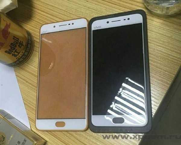 Шпионское фотографии смартфона Vivo X7