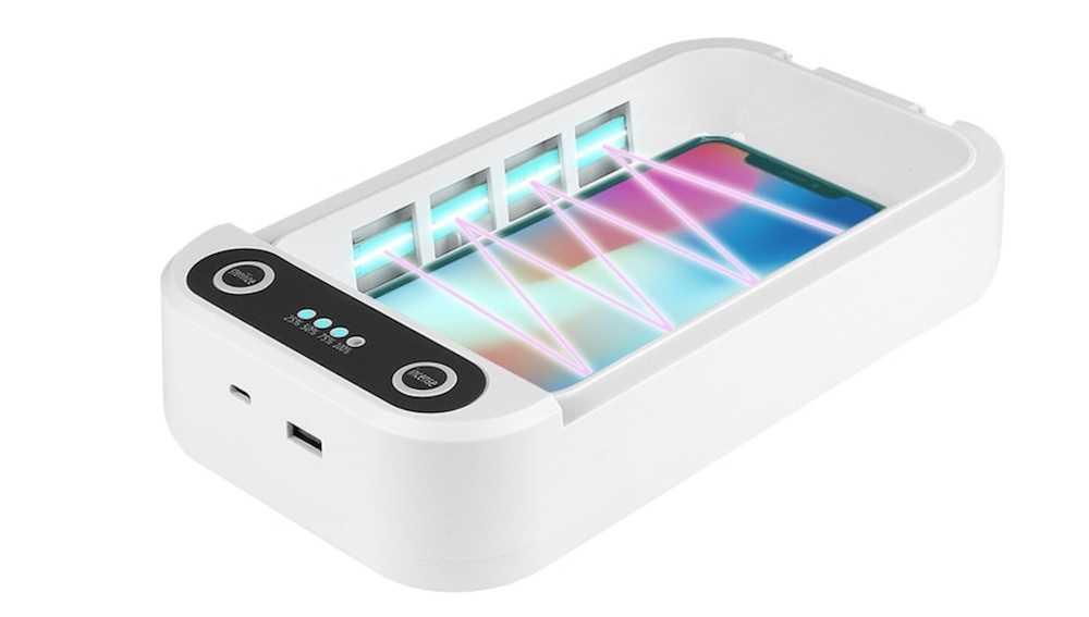 Ультрафиолетовое дезинфицирующее средство для телефона