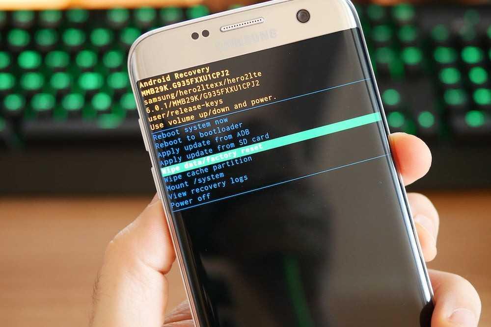 Заводские настройки Android через режим восстановления
