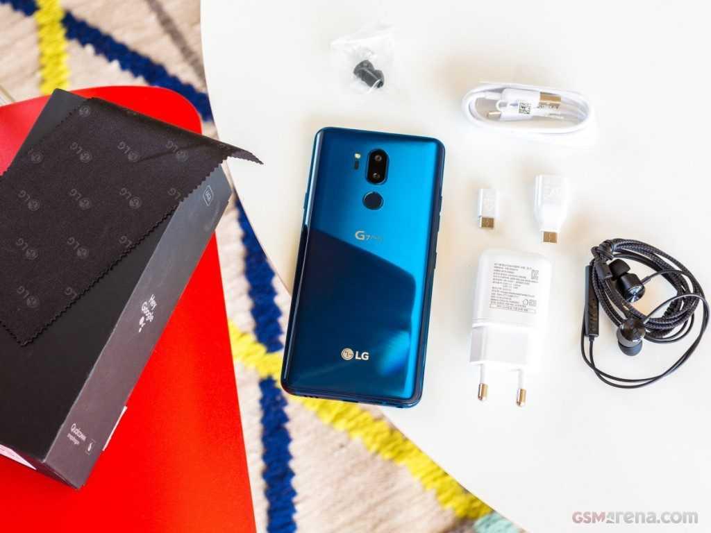Комплектация LG G7 ThinQ