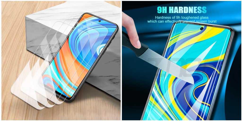 Закаленное стекло для Xiaomi Redmi Note 9
