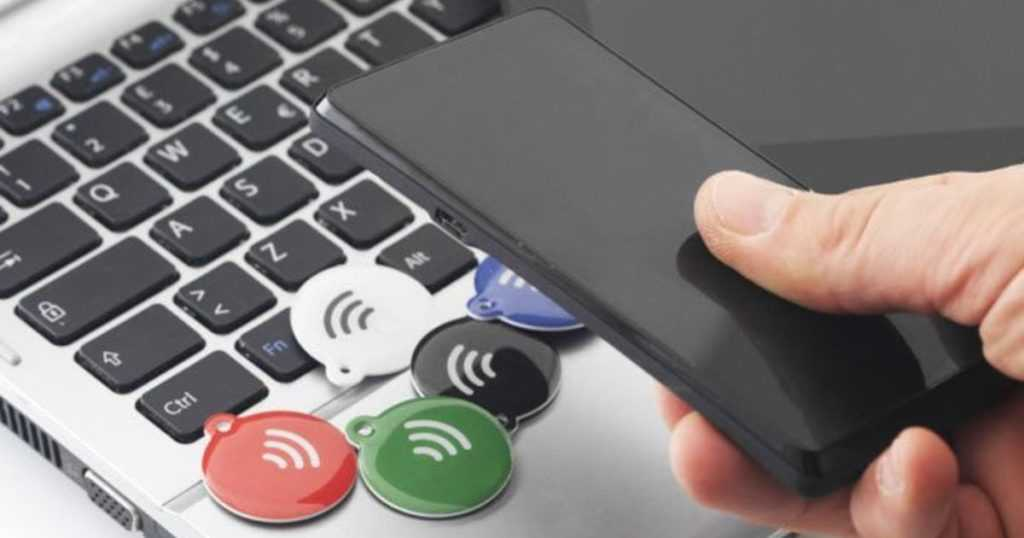 Использование тегов NFC