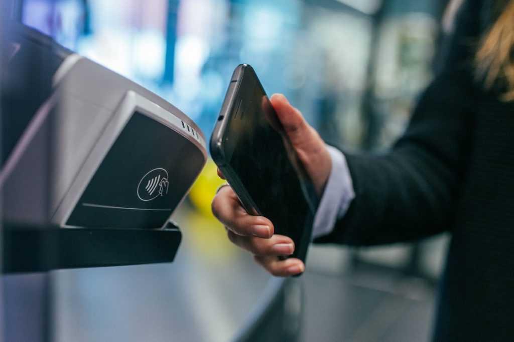 Как настроить NFC для оплаты картой