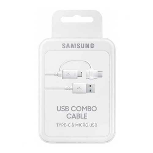 Кабель Samsung USB - microUSB / USB Type-C