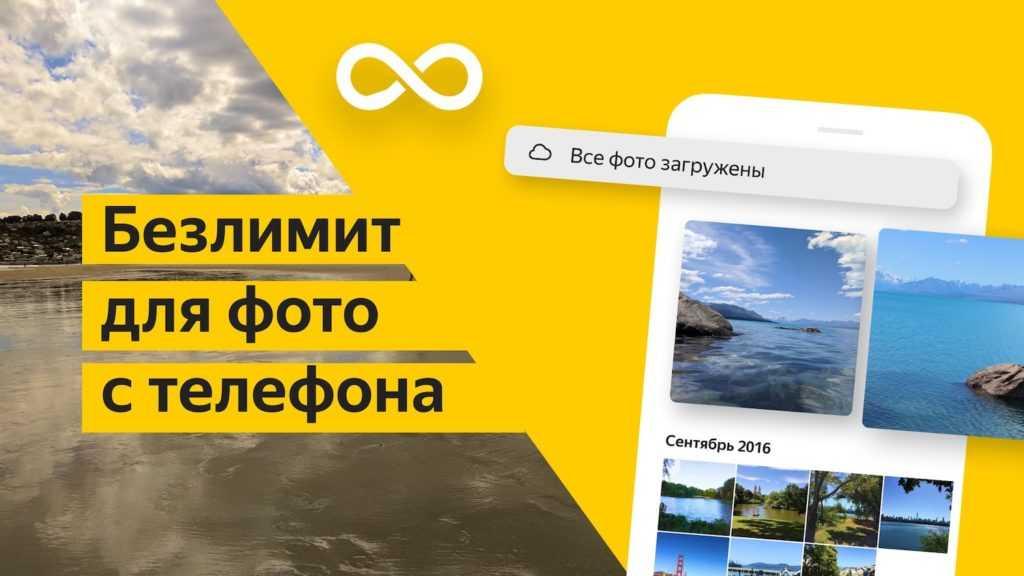 Яндекс.Диск – безлимит для фото
