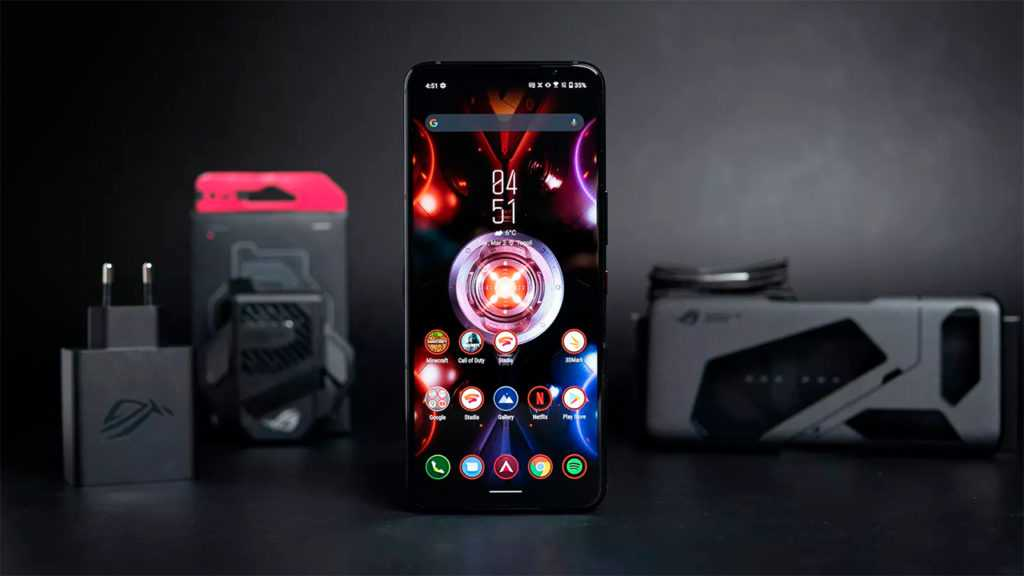 Игровой телефон Asus ROG 5